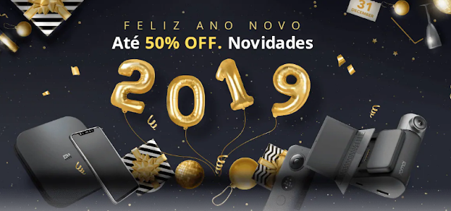 Promoção Feliz Ano Novo na Gearbest