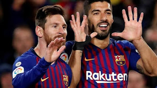 Luis Suarez opens up on relationship with Lionel Messi after leaving Barcelona