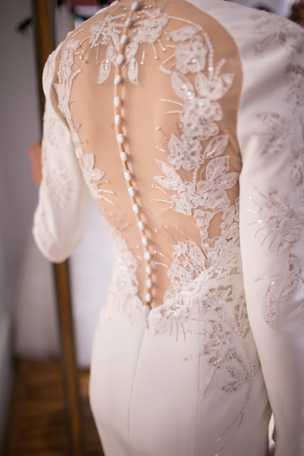 Wedding Dresses | Backstage Bridal : Caroline Herrera Spring 2016