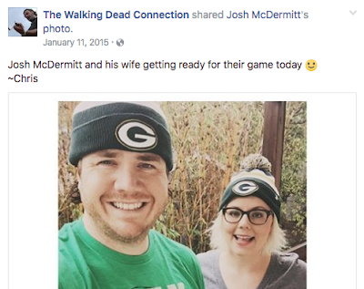 Josh McDermitt Wife Married Eugene Walking Dead