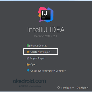 Create new Project IntelliJ IDEA