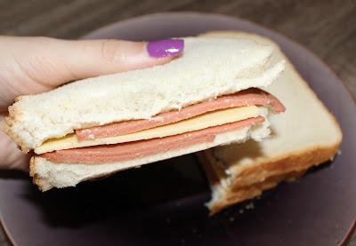 Vegan Bologna & Cheese Sandwich