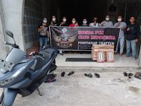 Membangun Negeri Impian Bersama Komunitas Honda PCX Club Pontianak