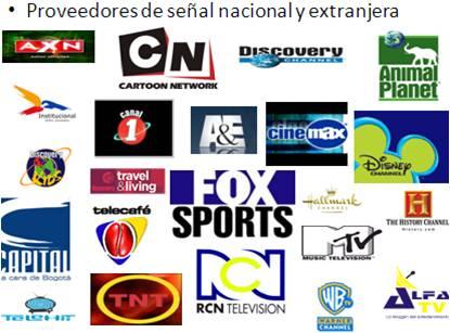 fd2d70faa0c Ofrece a su clientela una parrilla de 72 canales, entre nacionales,  regionales, institucionales y extranjeros. En estos ultimos encontramos 46  canales de ...