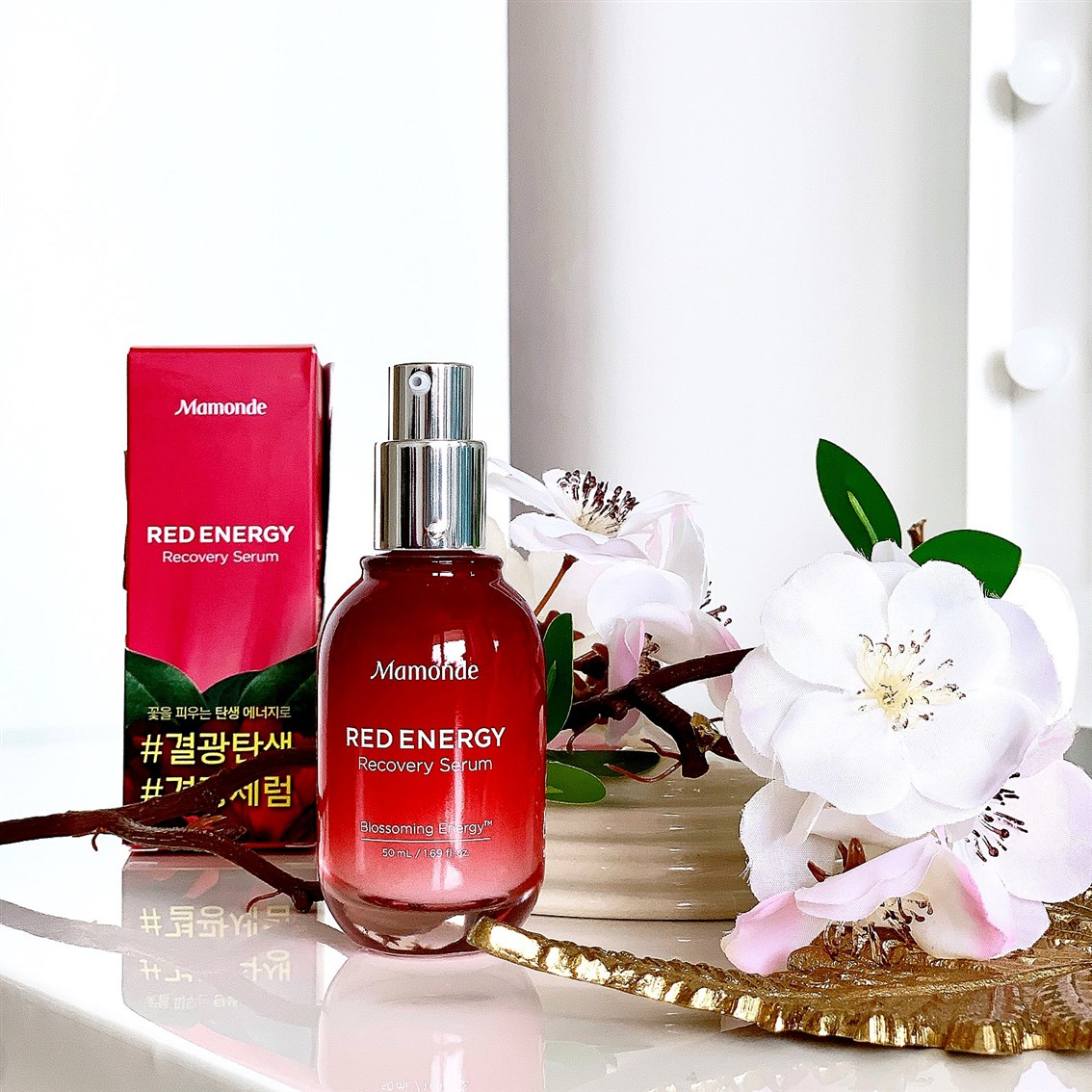 Mamonde Red Energy Recovery Serum blog