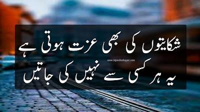 Sad Two Line Shayari in Urdu