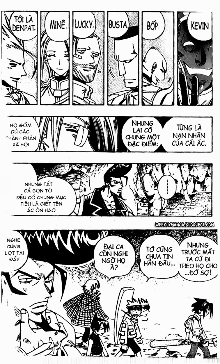 Shaman King [Vua pháp thuật] chap 104 trang 6