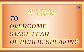 How to overcome stage fear of public speaking