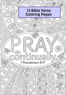 RicLDP Artworks Bundle 2 Bible Verse Coloring Pages
