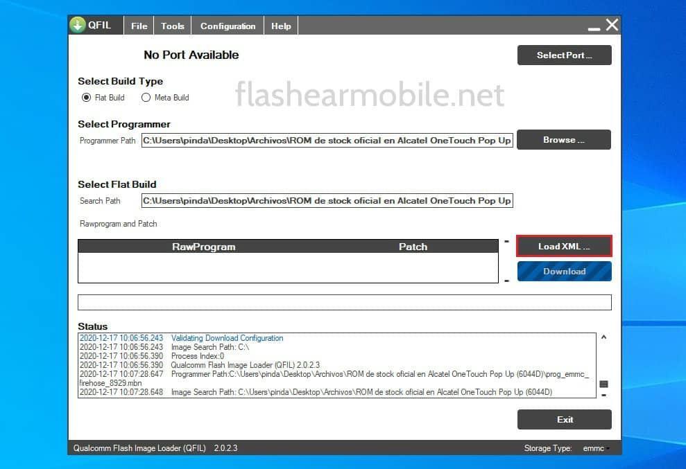flashear dispositivos Qualcomm con la herramienta QFIL