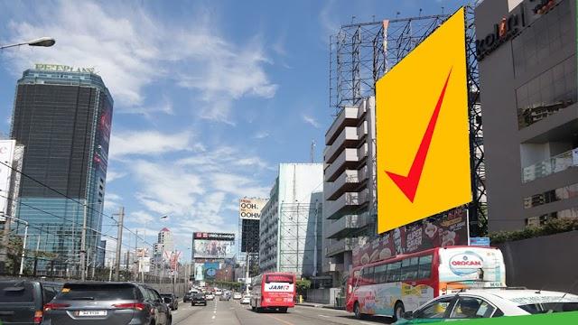 EDSA Billboard before Guadalupe : Reynoso Parallel