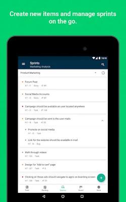 Screenshot Zoho Sprints - Apcoid