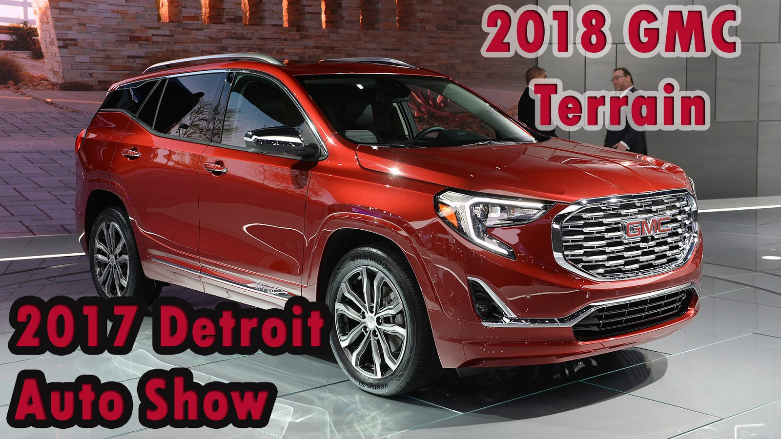 2017 Detroit Auto Show Review 2018 Gmc Terrain Loses The