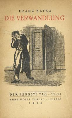 الغلاف الأصلي لرواية المسخ للكاتب الألماني فرانز كافكا