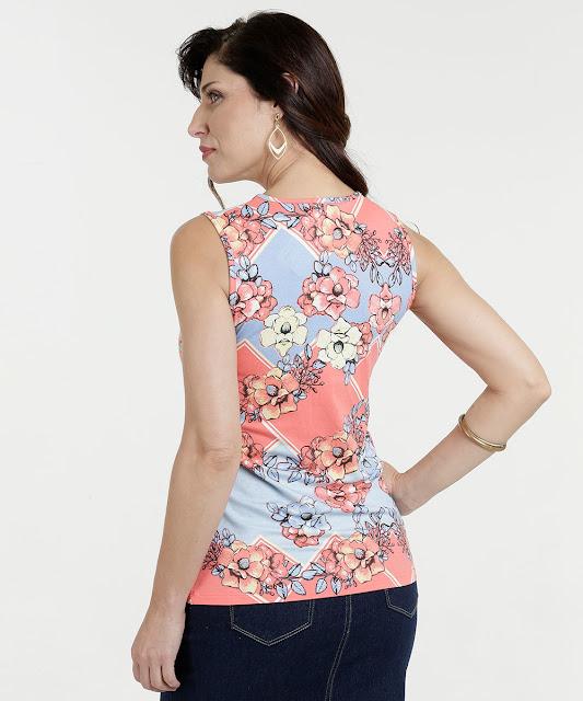 Despojada e versátil, a blusa sem manga é uma forte aliada das produções nos dias de calor.