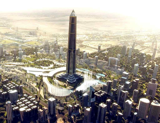 Centro financeiro da nova capital administrativa egipcia