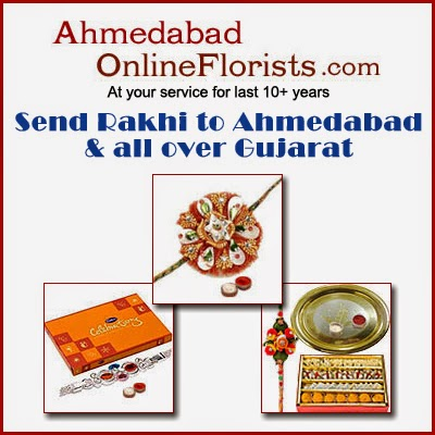 Send Rakhi Gifts to Ahmedabad