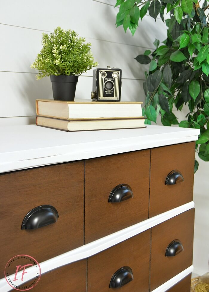 Faux Apothecary Dresser DIY Faux Drawers