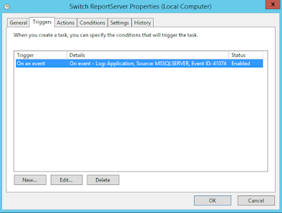 Using SSRS ReportServer database in SQL Multi-Subnet Availability Group