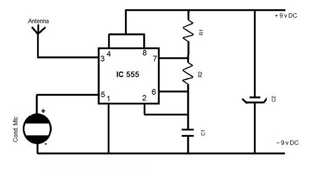 ELECTRONICS HOBBY CIRCUITS FOR BEGINNER'S: AM TRANSMITTER