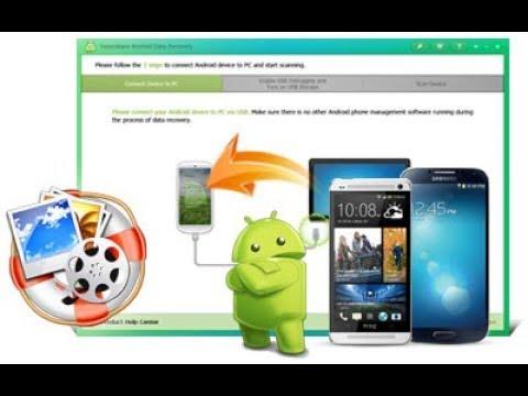 إسترجاع جميع الملفات المفقودة من الهاتف Tenorshare Android DataRecovery(مطلوب روت)