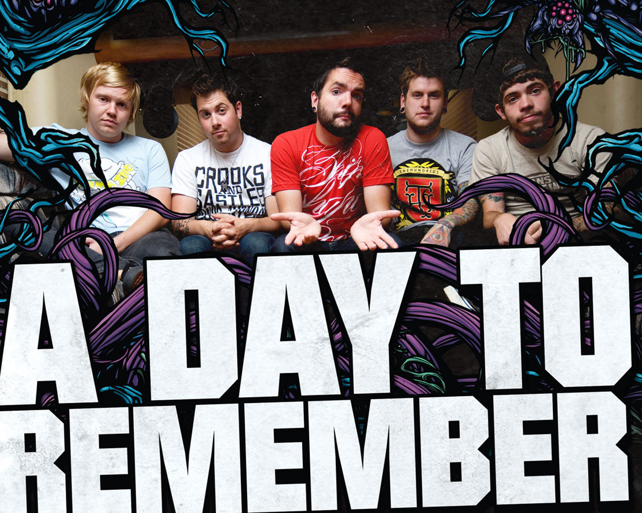 A Day To Remember wallpaper ~ ALL ABOUT MUSIC A Day To Remember Lyrics Wallpaper
