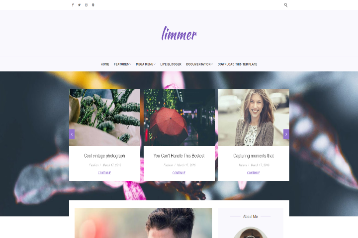 Limmer Blogger Template
