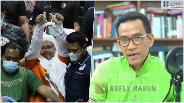 Bandingkan Jaksa Pinangki, Refly: Kasus HRS Dianggap Lebih Bahaya hingga Divonis 4 Tahun, Luar Biasa