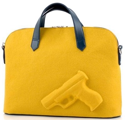 Vlieger & Vandam - Guardian Angel handbag - Gun