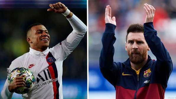 Mbappe Backs Messi to Win Ballon d'Or