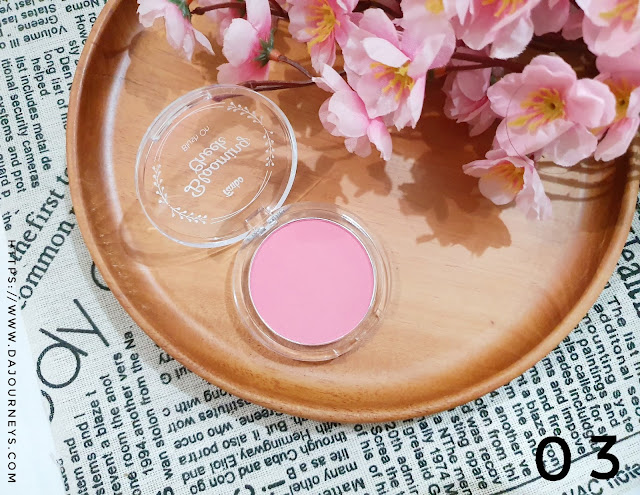 Review Fanbo Precious White Blooming Cheek 03 Pinky Promise