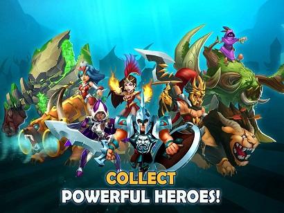 Wartide Heroes of Atlantis MOD Unlimited Money 1.1.1 Apk Terbaru