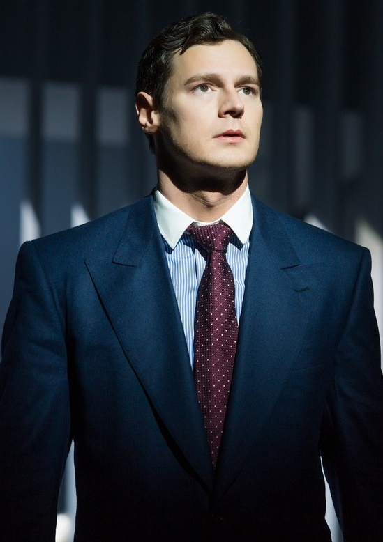 benjamin walker in 39 american psycho 39 on broadway. Black Bedroom Furniture Sets. Home Design Ideas