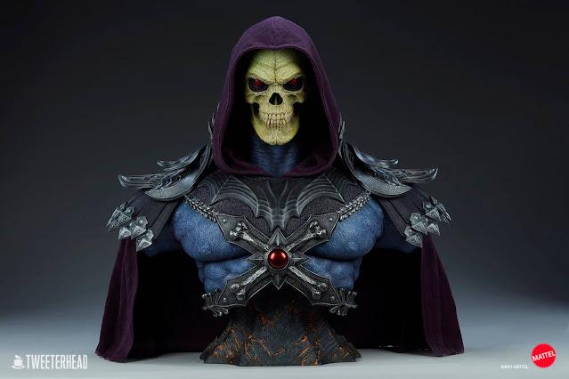 Busto Skeletor Tweeterhead