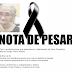 Vereador Oscar Paulino e esposa apresentam nota de Pesar pelo falecimento de Dona Terezinha