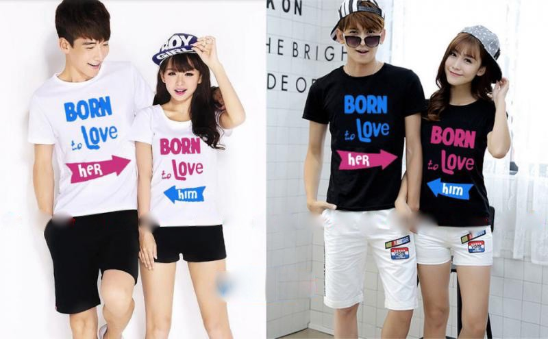 Jual Baju Couple Born Love - 23925