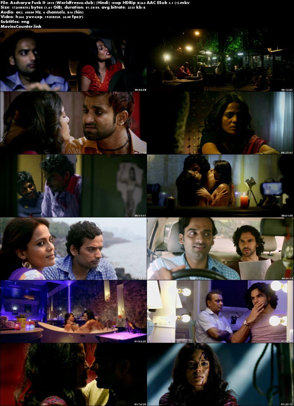 Screen Shots Ascharya Fuck It 2018 Hindi HD 1080p