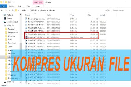 Cara Mengecilkan Ukuran Semua Jenis File Lewat PC dan Android