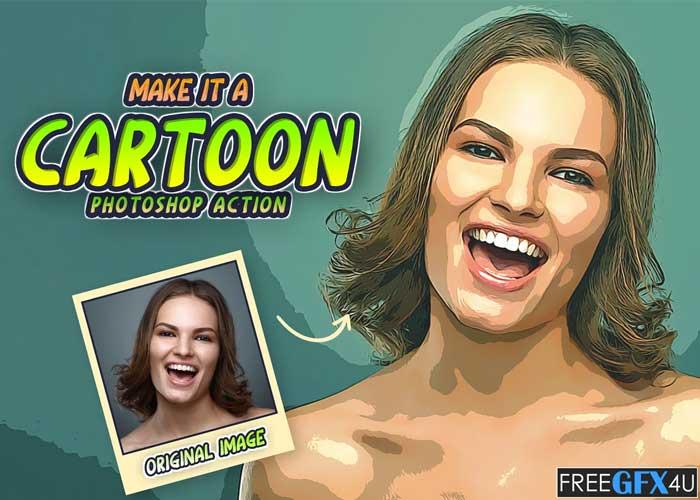 Make It A Cartoon PS Action