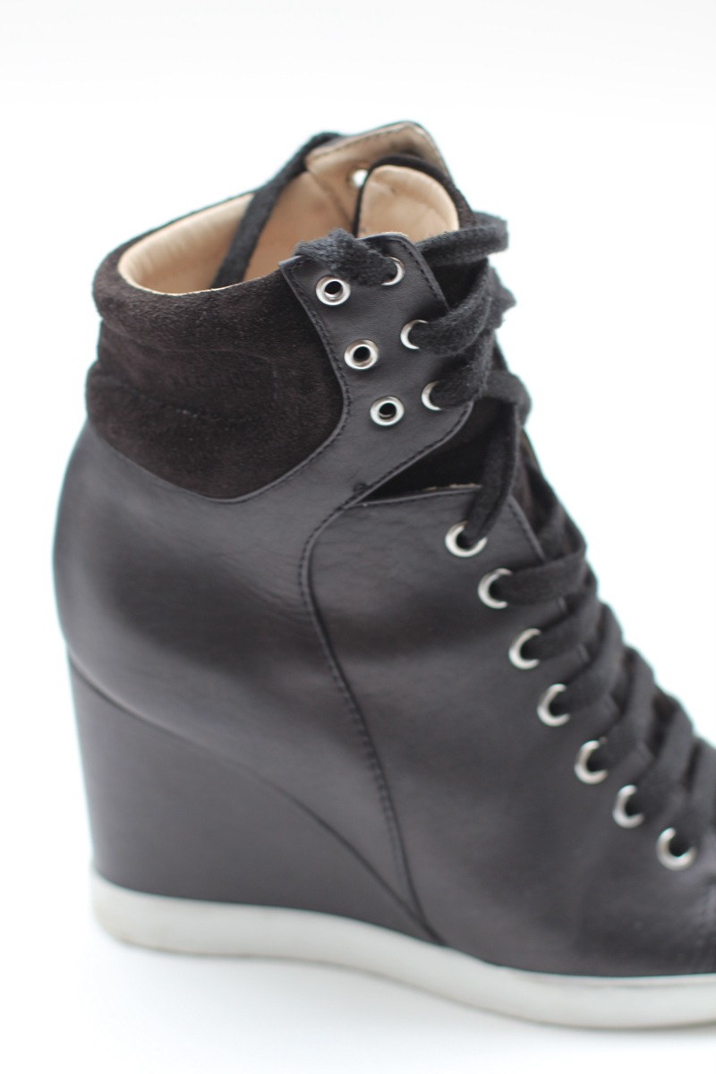 Louise Paris Bottines Ankle Boots En Cuir Noir See By