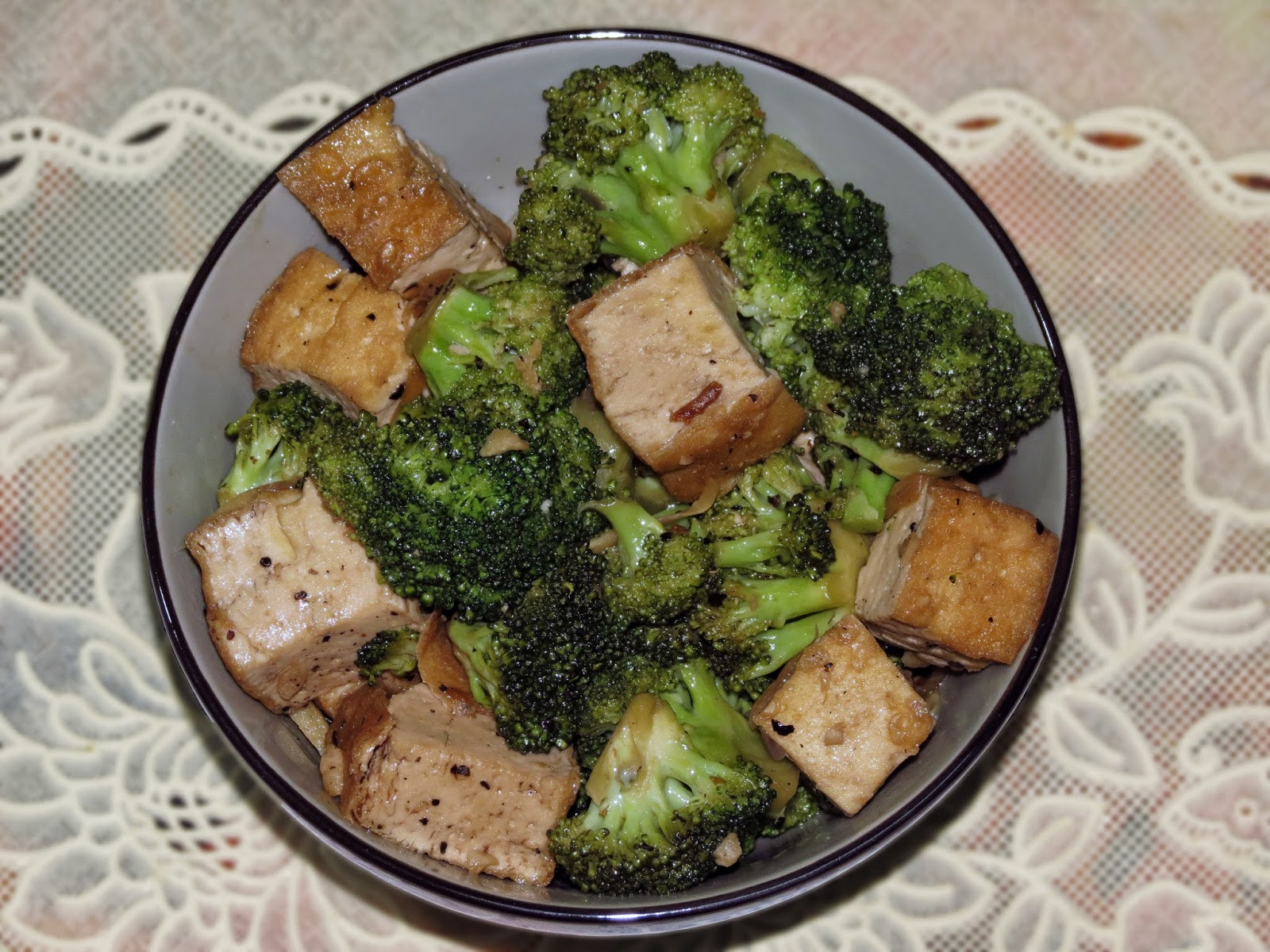 This dish is good for those who don't want to eat meat and want to be healthy.