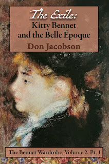 Book cover: The Exile - Kitty Bennet and the Belle Epoque by Don Jacobson