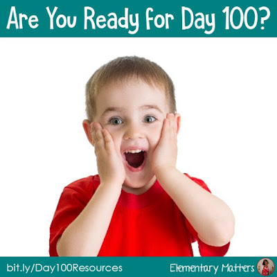Are you ready for Day 100? This post contains several ideas, resources, books, and freebies to help celebrate Day 100.