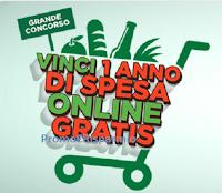 Logo oncorso Crai Spesa Online : vinci 1 anno di spesa (valore 2600€)
