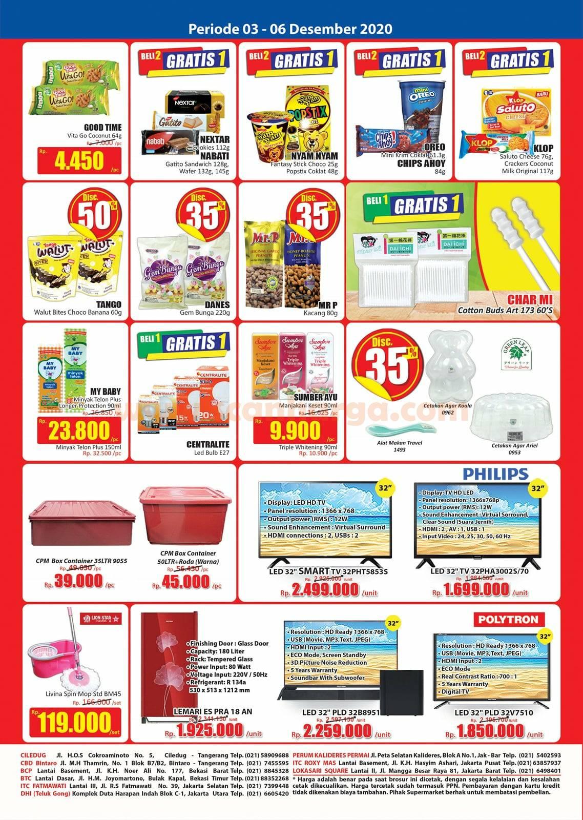 Katalog Promo JSM Hari Hari Swalayan Weekend 3 - 6 Desember 2020 4