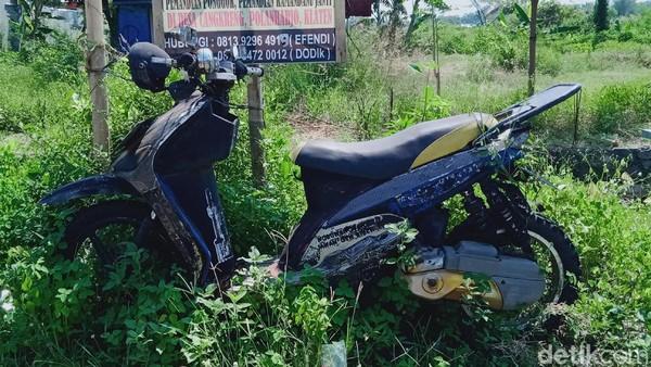 Misteri Motor 6 Tahun Terparkir di Pinggiran Jalan Klaten