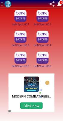تطبيق فرفشة TV لمشاهدة مباريات اليوم والقنوات المشفرة