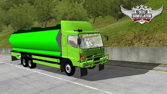 Mod Truck Tangki Hino Lohan