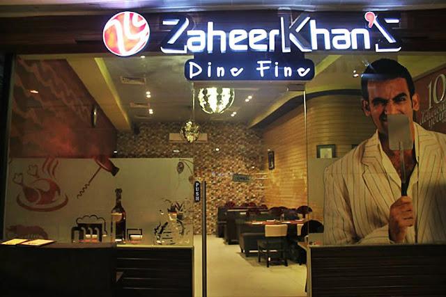 Zaheer Khan's Dine Fine by Zaheer Khan