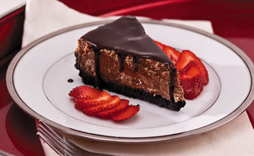 Chocolate velvet cheesecake recipe
